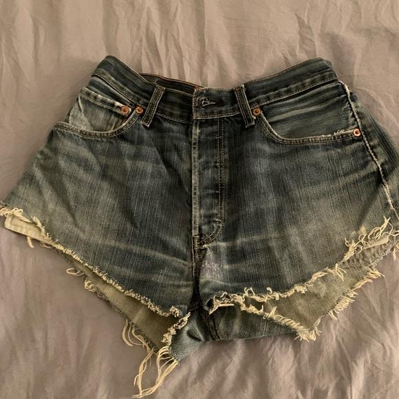 Levi's Pants - Levi's Cut-Off Shorts
